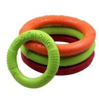 Pet Flying Discs EVA Dog Training Ring Puller Resistant Bite Floating Toy Z1A1