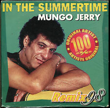 MUNGO JERRY - IN THE SUMMERTIME (REMIX 98) - CD SINGLE NEW SEALED