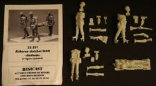 "1/35 Resicast British WWII airborne stretcher team ""Arnhem"" resin figures (4)"