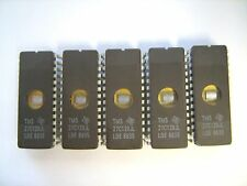 TEXAS INSTRUMENTS 27C128JL 27C128 IC TMS 28Pin EPROM - Lot of 5 Pcs / TESTED