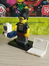 Lego 71025 Minifig Figurine Série 19 Fire Fighter Pompier socle