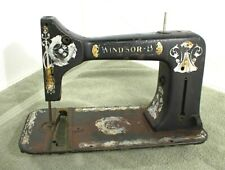 WINDSOR B SEWING MACHINE CASE SHELL HOUSING BODY 2351464 ANTIQUE