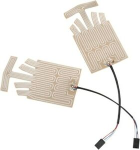 RSI Racing Extended Grip Heat Elmnt Kit w/ Plastic OEM Connectors GH-8