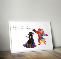 Peter Pan Between Sleep /& Awake quote poster art print A2 /& A3 available