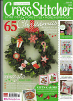 Cross Stitcher Iss 258 65 Christmas Designs Advent Calendar Fox and Cub Robins