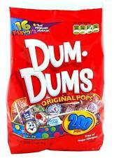 DUM DUMS Lollipops, Variety Flavor Mix, 200 Count Bag 200
