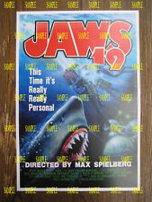 """Back to the Future 2 - JAWS 19 Poster Print - 11"""" x 16"""" - B2G1F"""