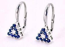 a5bd876aa70b Pendientes diamonds oro blanco 750 Gival zafiro 2 mm cad. 0.06 kt peso 3