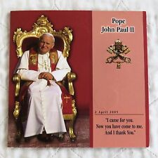 MALTA 2005 POPE JOHN PAUL II 5 X 1 LIRA UNCIRCULATED SET - sealed pack