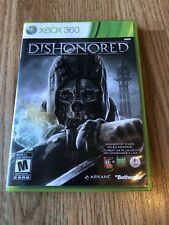 Dishonored (Microsoft Xbox 360, 2012) Cib Game Works VC1