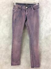 Southpole Jeans Co. jeans juniors size 1 pink acid wash denim jean pants cotton