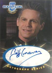 Jeff Conaway as Zack Allan Autograph SA7, Babylon 5 Profiles
