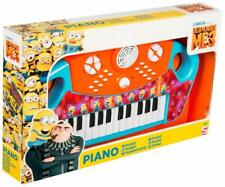 Despicable Me 3 Minions Large Electric Keyboard Piano Kids Childrens Official