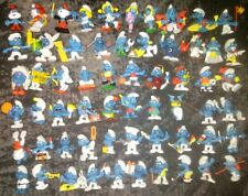 70's 80's Smurf PVC Lot Schleich/Peyo 60 figure collection - FREE SHIPPING!!!