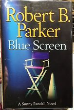 Blue Screen by Robert B. Parker, HCDJ,  1st/1st  SIGNED, COA Included