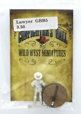Knuckleduster GBB5 Lawyer (Gunfighter's Ball) Old West Town Civilian Townsfolk