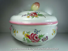Spode Marlborough Sprays Covered Casserole 3 Quart