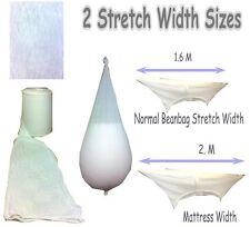 BeanBag Stocking Netting Liner Bag for filling Polystyrene Beads in Bean Bags.