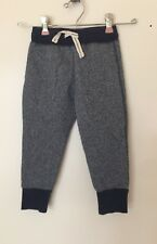 Crewcuts Toddler Girl Glittered Jogger Pants Sweatpants Size 3 Blue Drawstring