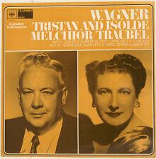 """WAGNER TRISTAN ET ISOLDE LAURITZ MELCHIOR HELEN TRAUBEL 12"""" LP (c72)"""
