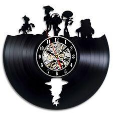 Toy Story Cartoon Vinyl Record Wall Clock Vintage Disney Children Room Art