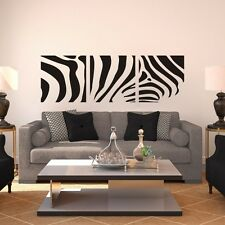Zebra Wall Sticker Motivation Africa Animal Living Room Office Home Vinyl Decor