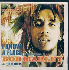 CD SINGLE PROMO 2 TITRES--BOB MARLEY & THE WAILERS--I KNOW A PLACE--2001