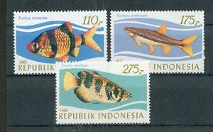 Indonesia 1116 - 1118 Fish (MNH)