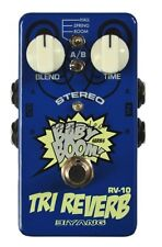 "Biyang RV-10 Stereo ""Tri Reverb"" Guitar Effects Pedal"
