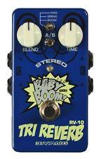 "Biyang RV-10 Stereo ""Tri Reverb"" Guitar Effects Pedal"