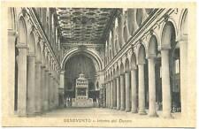 BENEVENTO - INTERNO DEL DUOMO 1936