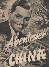ABENTEUER IN CHINA (BFK 3001, 1935) - CLARK GABLE