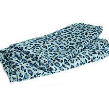 Small Animal Leopard Print Shawl Stole Scarf  Wrap 105cm x 170cm