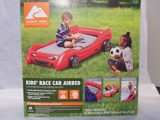 "NEW - KIDS OZARK TRAIL ""RACE CAR"" DREAMCHASER AIRBED WITH BUILT-IN PILLOW +"