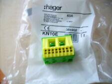 Hager KN10E  PE-Klemmstein zusatz für Unterverteiler