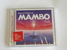 SIESTA II SUNSET AT CAFE MAMBO 2CD ***Factory Sealed***