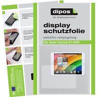2x Protection pour Acer Iconia Tab A1-830 Film de d'écran protecteur antireflet