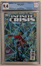 INFINITE CRISIS #2 : CGC 9.4 NM Perez variant