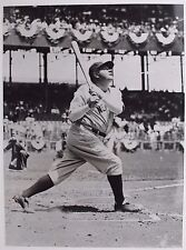 VINTAGE BABE RUTH New York Yankees 6x8 File Unsigned Photo 16F