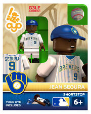 Jean Segura OYO Milwaukee Brewers MLB Mini Figure NEW G3 Glove Logo RARE