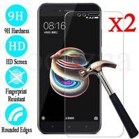 2X Premium Tempered Glass Film Screen Protector Cover For Xiaomi Mi A1 / 5X UK