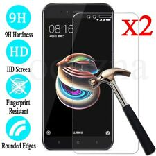 2X 9H Premium Tempered Glass Film Screen Protector Cover For Xiaomi Mi A1 / 5X