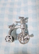 Estate 50s-70s UK mech CHARM -HIGH SEAT TRIKE Tricycle /Handle TURNS Wheels ROLL