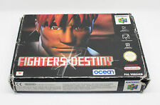 FIGHTERS DESTINY solo CAJA NINTENDO 64 N64