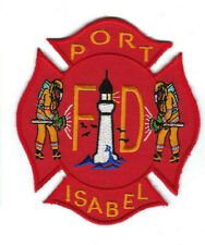 Port Isabel (Cameron County) TX Texas Fire Dept. patch - NEW! *LIGHTHOUSE*