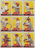 2013 Hometown Heroes St. Louis Cardinals Team Set 16 Cards Gibson Ozzie Smith +