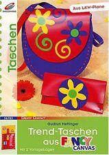 Trend-Taschen aus Fancy Canvas * Handtasche Sporttasche Mappen Etuis Shopper