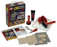 Essdee Lino De Corte & Kit De Impresión 22PCS Set-crear impresiones de sellos &