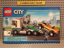 LEGO CITY 60097 - TOW TRUCK + 1 MINIFIGURE - NO BOX - BRAND NEW!!!