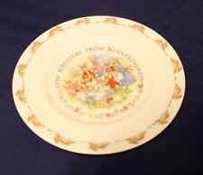 Royal Doulton - Bunnykins Happy Birthday plate